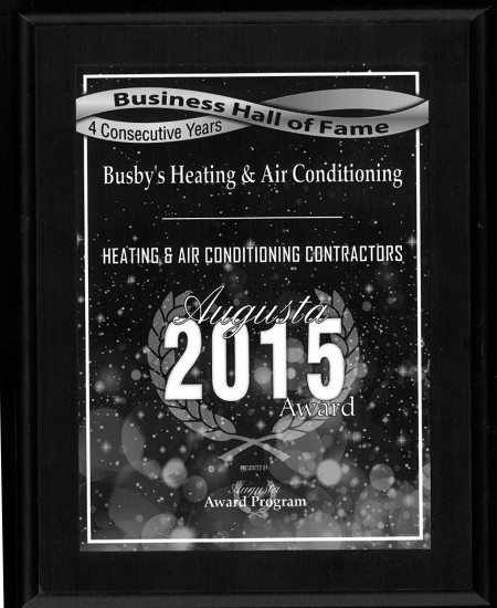 Business Hall of Fame | Busby's Heating and Air Augusta GA
