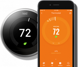 Nest Thermostat at Busby's Heating and Air Conditioning in Augusta GA